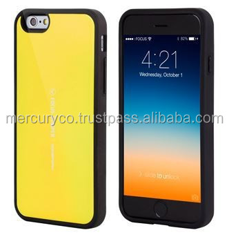 Bumper phone case Mercury Focus bumper (Yello)