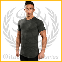 open neck t shirt made of cotton and spandex