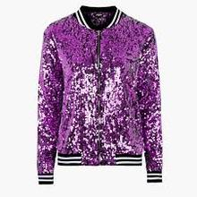 A Beautifull & New style Women sequin jacket bomber for 2017