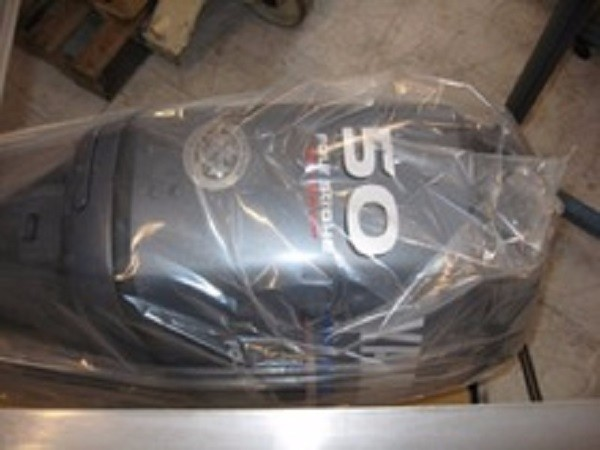FREE SHIPPING FOR USED YAMAHA 50 HP 4 STROKE OUTBOARD MOTOR