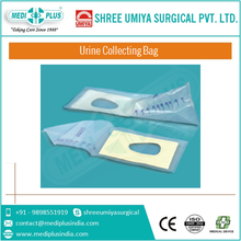 CE ISO Approved Sterile PVC Disposable Economic Medical Paediatric Urine Collection Bag