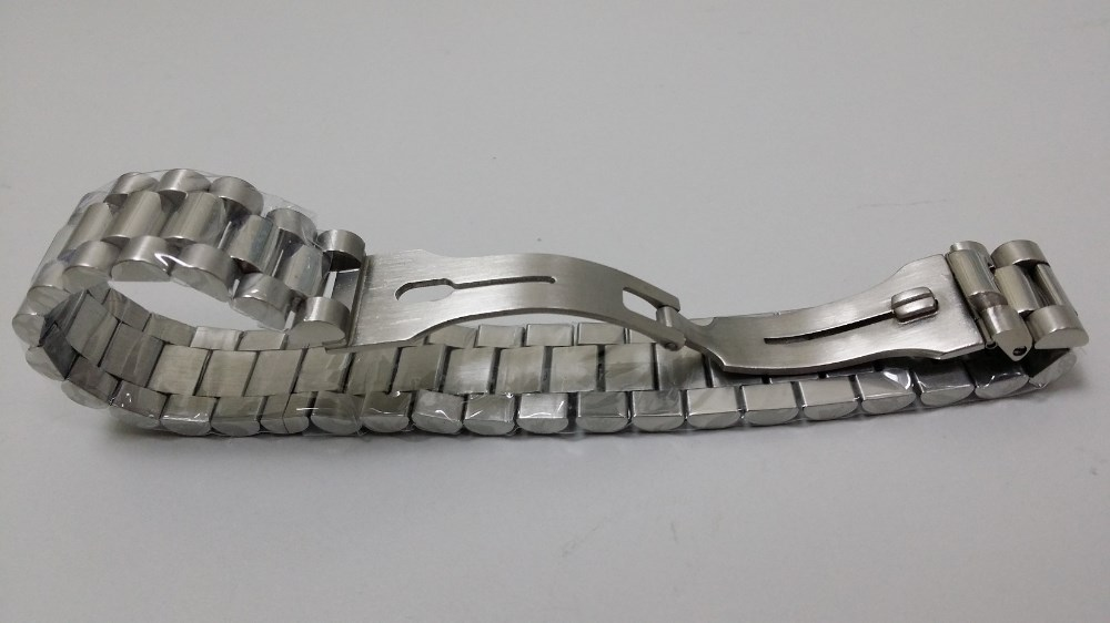 solid stainless steel bracelet