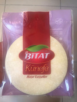 Bitat Turkish frozen kunafa for restaurant 150gr kunefe with cheese