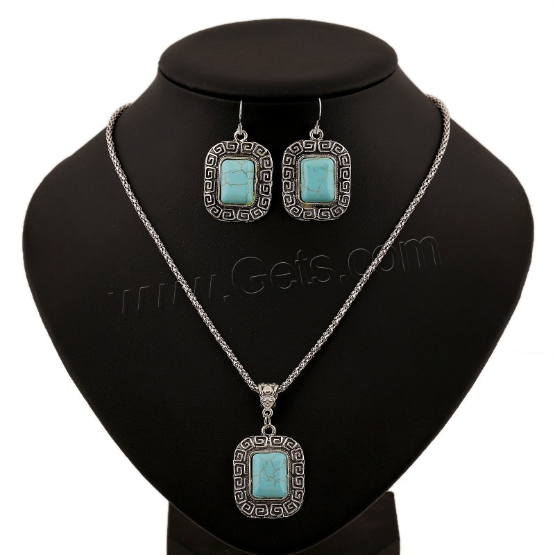 turquoise african wedding jewelry set with high quality