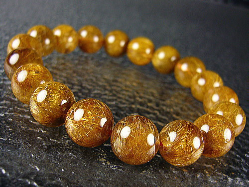 (IGC) TOP QUALITY NICE NATURAL RUTILE QUARTZ BRACELET FOR SALE WHOLESALE prices