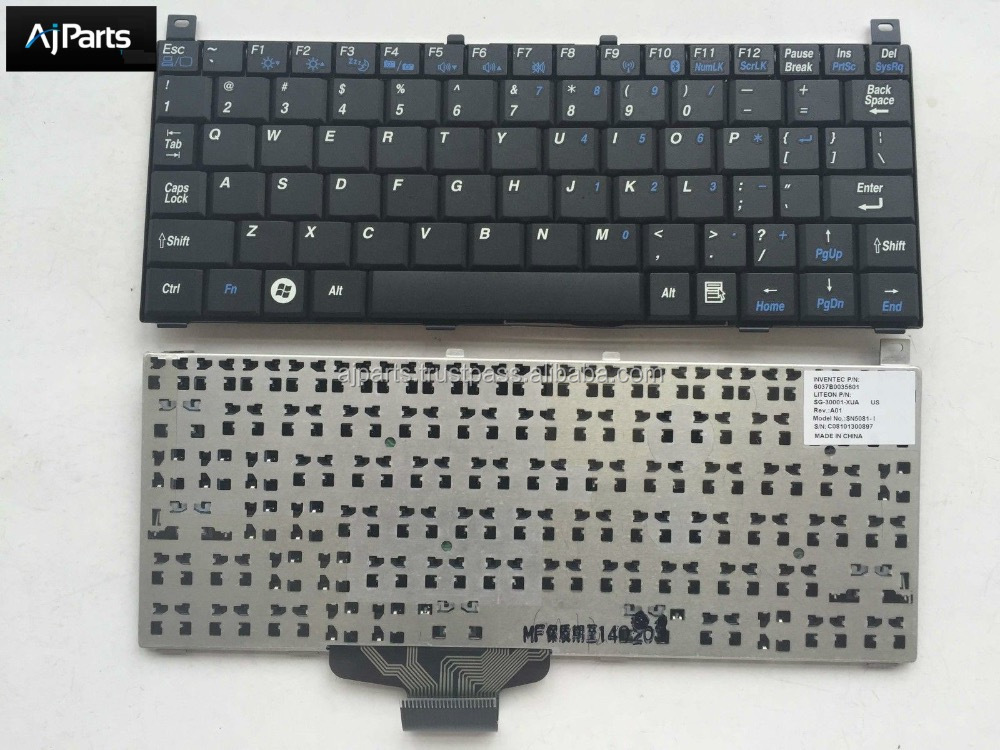 notebook keyboard For Toshiba MINI NB100 NB105 series laptop keyboard US UK SP RU PO layout silver MP-07C63E0-930