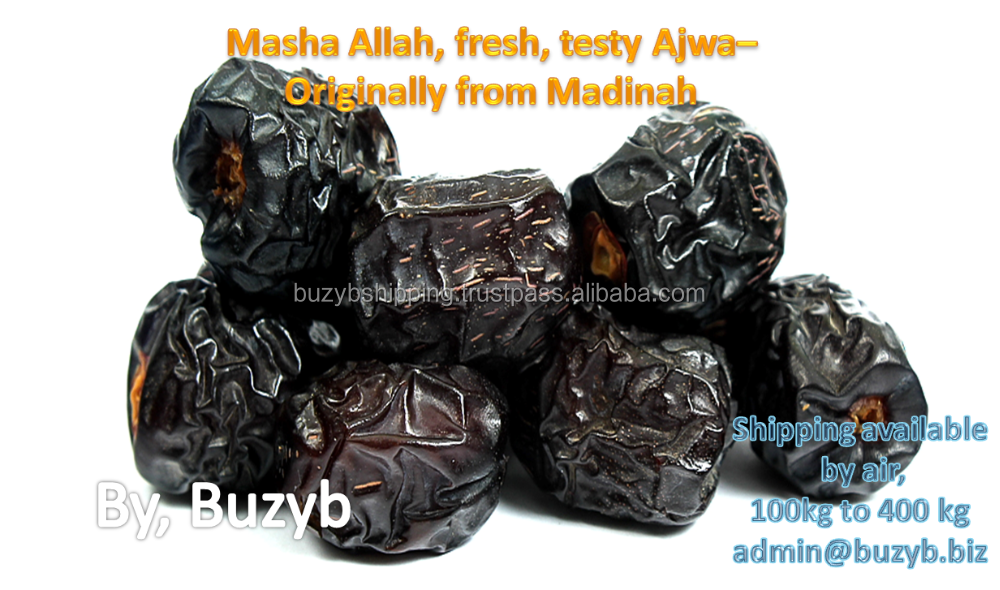 Ajwa dates Saudi Arabia, whole sale global shipping