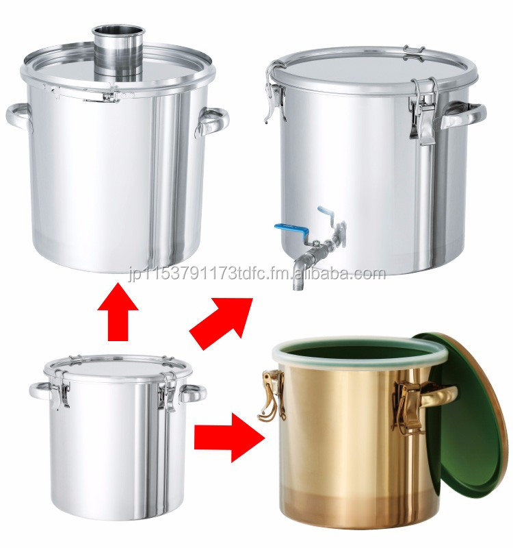 Industrial Food Container : Japanese and sanitary food storage container st l for