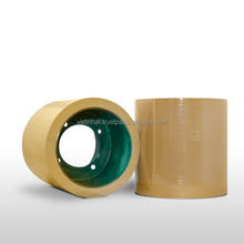 Rubber rolls for paddy dehusking