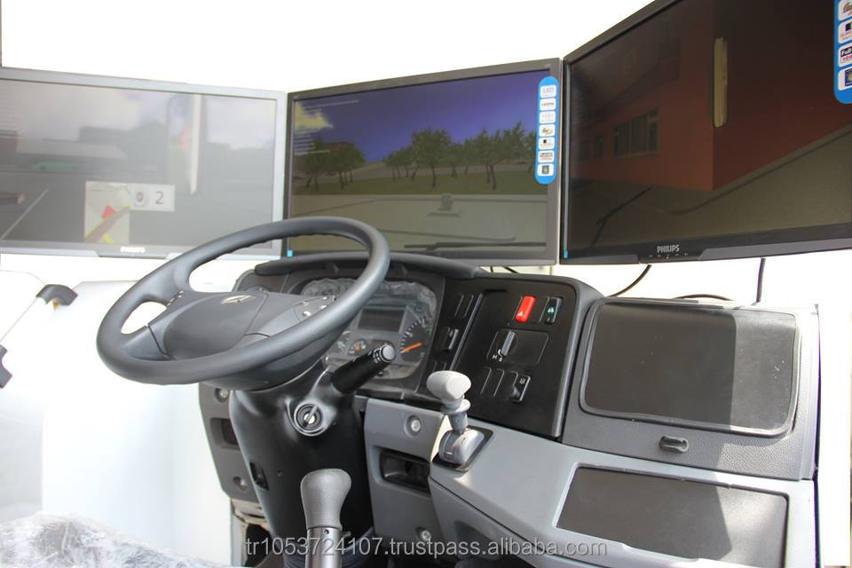 TRUCK DRIVING SIMULATOR MACHINE (MERCEDES AXOR, SCANIA, MAN, GMC, IVECO, FREIGHTLINER, ISUZU, KIA and more)