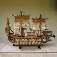 Miniature Wooden Ship 100% Handmade Custom Order By Request