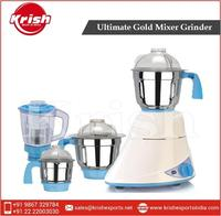 New Range of Ultimate Gold Mixer Grinder from Top Ranked Supplier