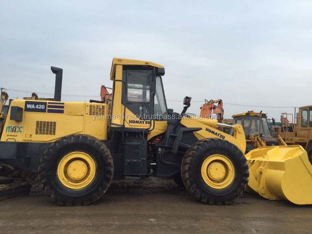 used komatsu wa420-3 loader for sale