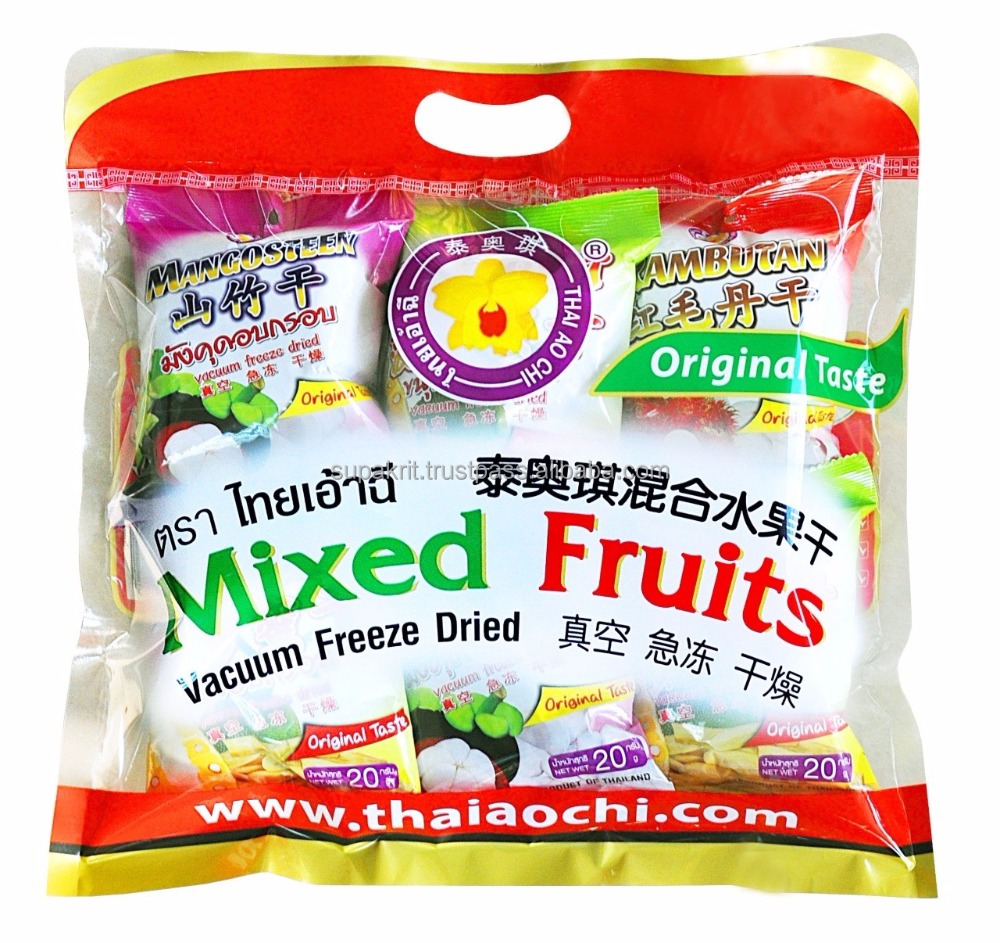 Best Seller Vacuum Freeze Dried fruit Snack from Thailand [ High quality dried fruit snack ]