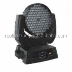 High Quality Led Dj Wash Moving Head Light, 3w * 108 LED moving head
