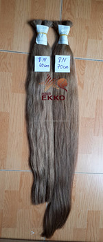 Ekkohair 4 Bundles/lot straight color hair 90cm 400g brown hair extension cold color hair Oct 2016