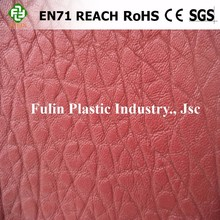 Feeling soft Genuine leather pvc synthetic leather for sofa cover