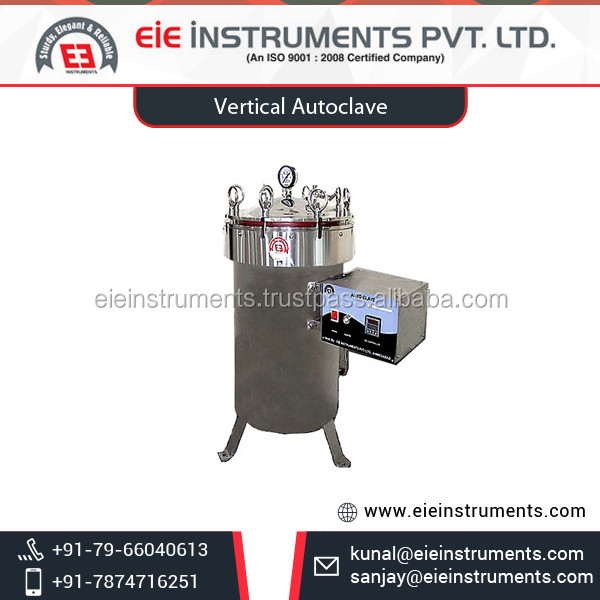 Effective Efficient Durable Auto Clave for Bacteria Free Instruments