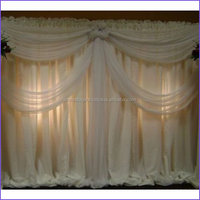 Elegant french style romantic aluminum led event decoration pipe and drape las vegas