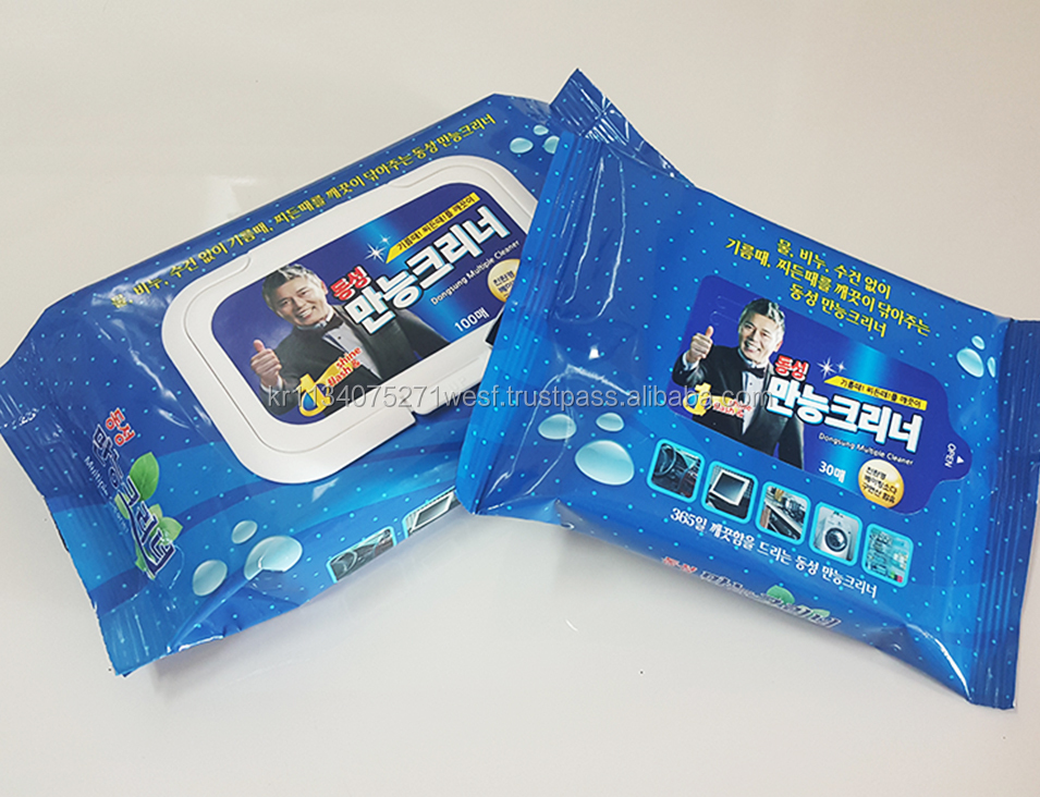 Multi purpose Cleaning Wet Wipes for Household Mobile Kitchen Laptop