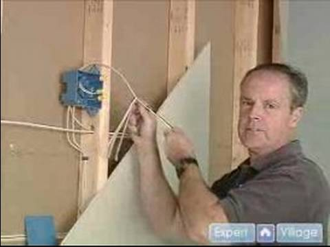 How to Install Electrical Outlets : Wiring an Outlet to an Electrical Box
