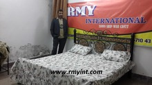 Pakistani RMY 181 best quality cotton printed bed sheets