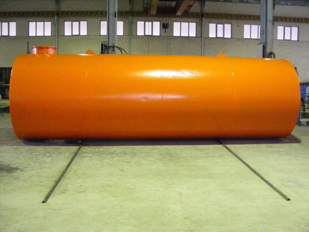 High Capacity Stainless Steel Storage Tank Fuel