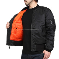 2016 Wholesale US MA-1 Bomber Flight Jacket (Black),Clothing Men