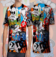 custom sublimation men t shirt korea design, Men's Sport T-shirt