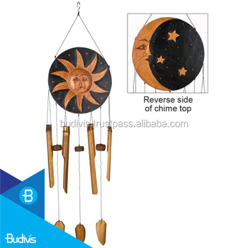 High Quality Decoration Sun on Bamboo Wind Chime at Best Price