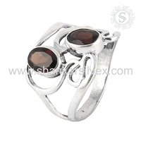 Glazed ! 925 Sterling Silver Jewelry Red Garnet, Handmade Silver Jewelry, 925 Silver Jewelry Ring Suppliers