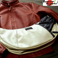 Various stylish items made of high quality horse hide