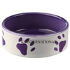 Powder Coated Metal Round Shape Dog Bowl