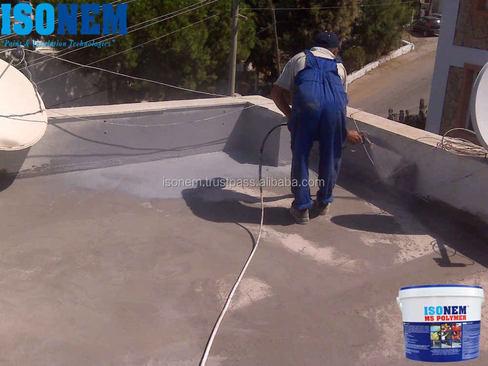 ISONEM MS POLYMER, ROOF AND FLOOR WATERPROOFING COATING
