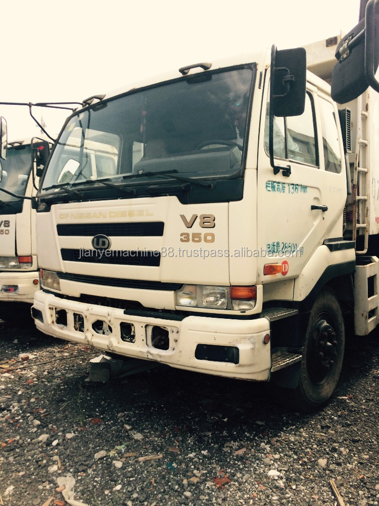 3 axles 6*4 Tipper/dumper/dump truck with good quality for sale, UD tipper, Nissan 15t Tipper, 0086 15026518796
