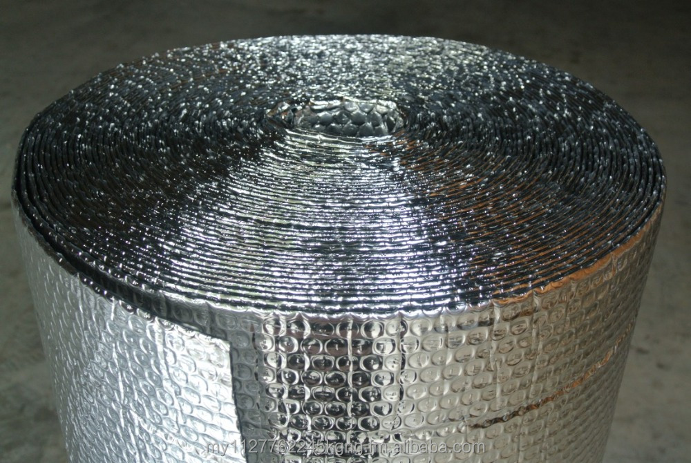 Bubble Foam Aluminium Foil / Radiant Barrier - Thermafoil Roof Heat Insulation