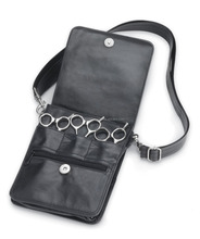 Leather hair scissor case made in india