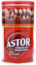 ASTOR CHOCOLATE WAFER STICK TIN 330G