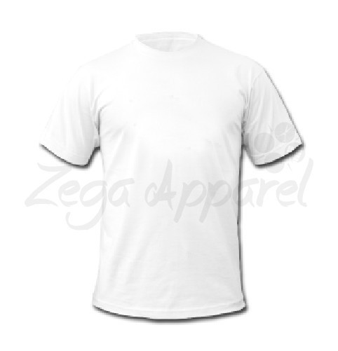 Company logo design Smooth textile lining solid color men's t-shirt