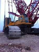 used Sany 630t crawler crane for sale in Shanghai , originally made in China cheap anf good