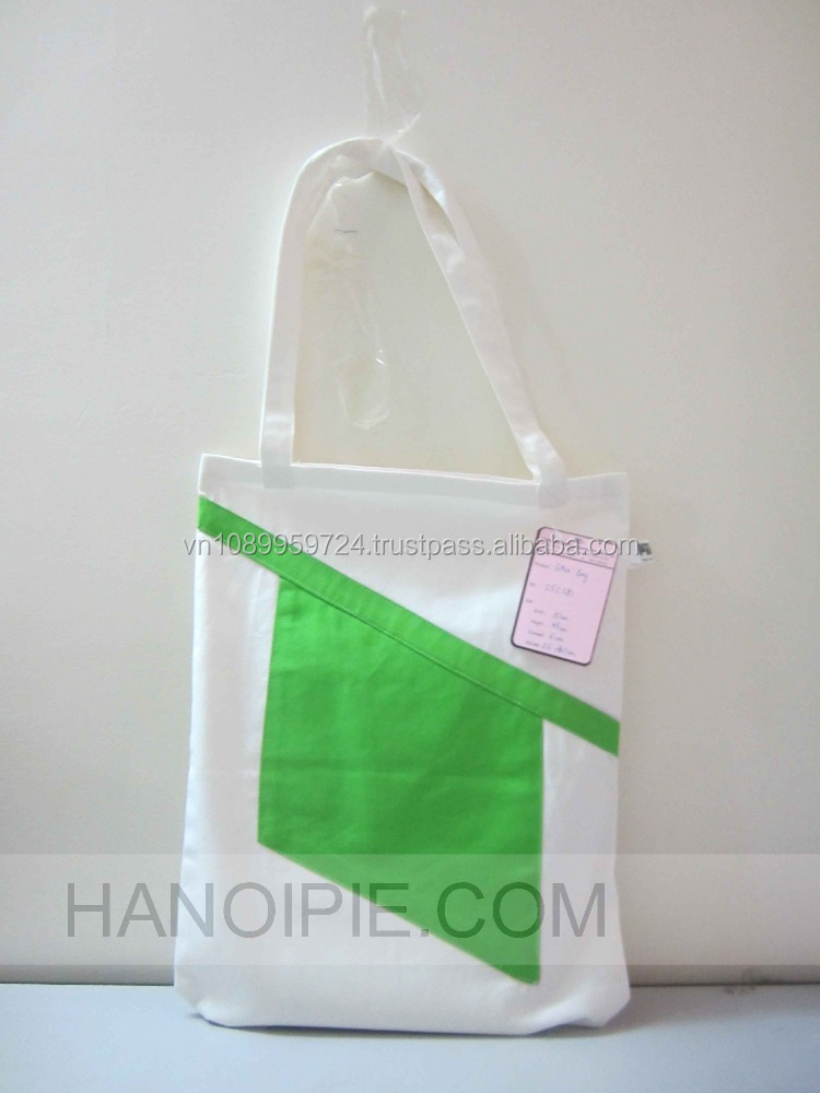 Professional Wholesale Eco-friendly Plank Cotton / Jute /Canvas Tote Bags with a front