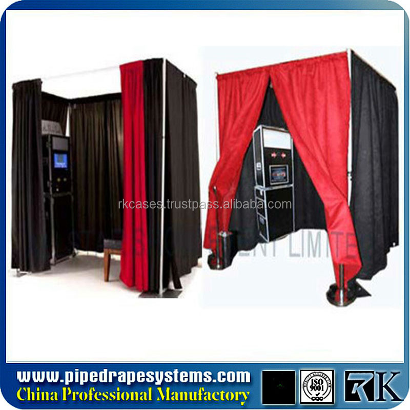 Rk Aluminium Portable Pipe amd Drape 3d photo booth
