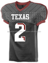 Grey American Football Jersey/american football training jersey