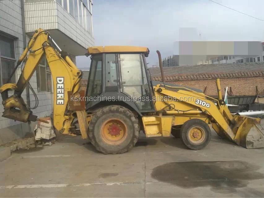 310G john deere Used backhoe loader