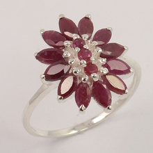Sunrise Jewellers Wholesale Alibaba Store Extra Ordinary Ring All Size Natural RUBY Gemstone 925 Sterling Silver Jewelry