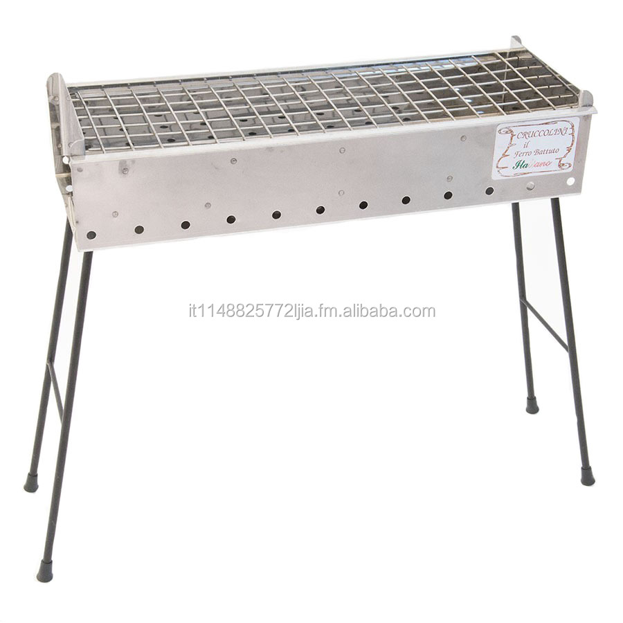 POSITANO INOX 60 CM- CHARCOAL BARBECUE