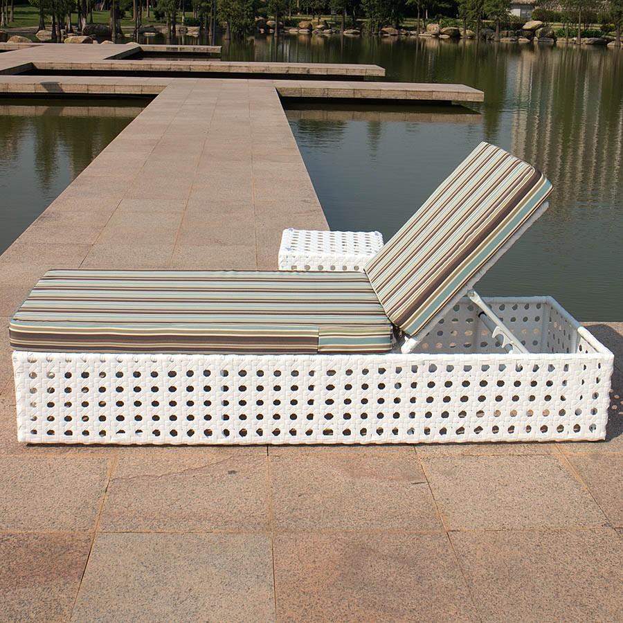 High quality sunbed garden furniture outdoor rattan wicker for High quality outdoor furniture