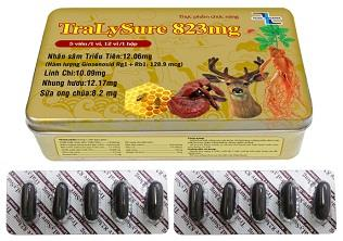 Korean Ginseng soft capsules supply TRALY SURE - reduce stress and allergies