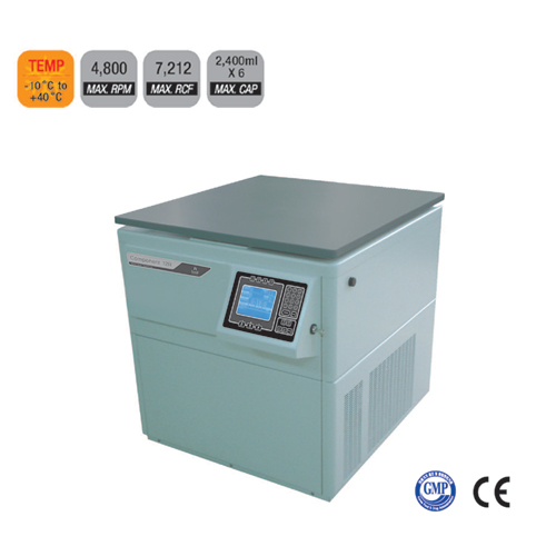 Refrigerated Blood-Bag or Various Tubes Laboratory Large Capacity Centrifuge Separator Machine Component 12R