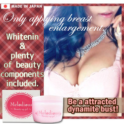Whitening rose scent breast cream names with melon placenta